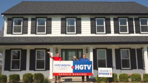 Continental Siding Featured on HGTV